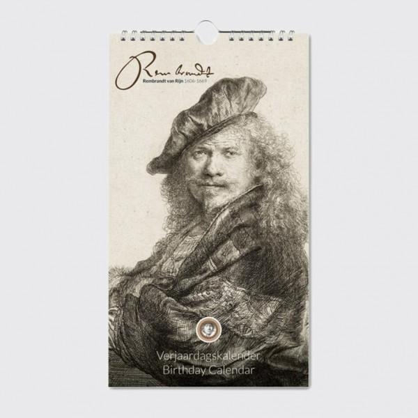 Geburtsagskalender Rembrandt Radierung