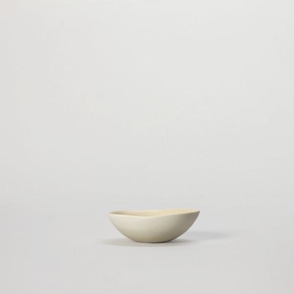 Schale . JARDIN DE MAGUELONE . 9,5cm beige