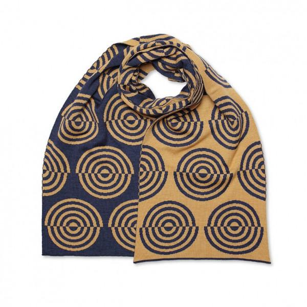 scarf . UTOPIA MATTERS . wide . b/k