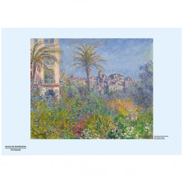 PST 54 Monet Villas at Bordighera Poster