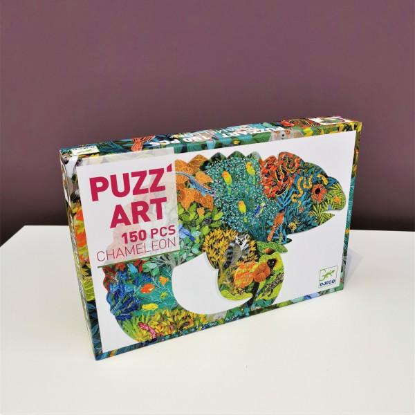 Puzzle . CHAMÄLEON . PUZZ'ART