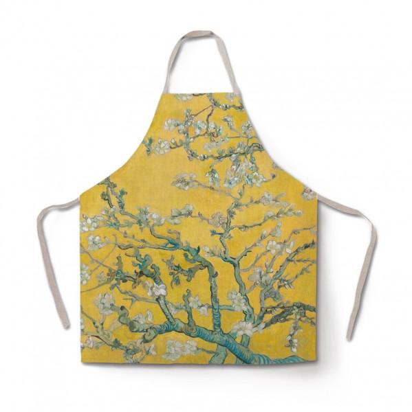 Schürze Van Gogh Almond Blossom yellow