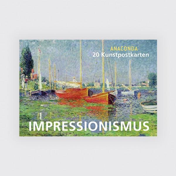 Postkartenbuch, Impressionismus