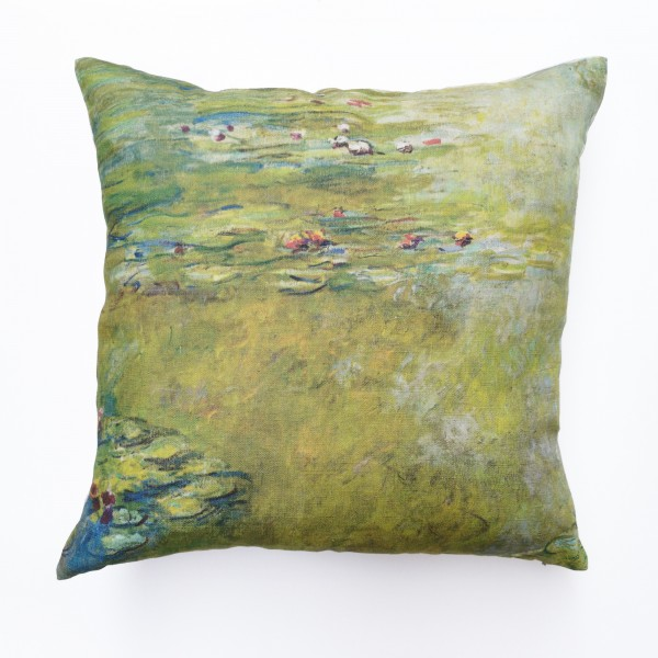 Pillowcase . CLAUDE MONET WATER LILY POND . 1918