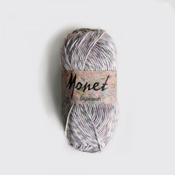 IRISES . MONET . Wolle