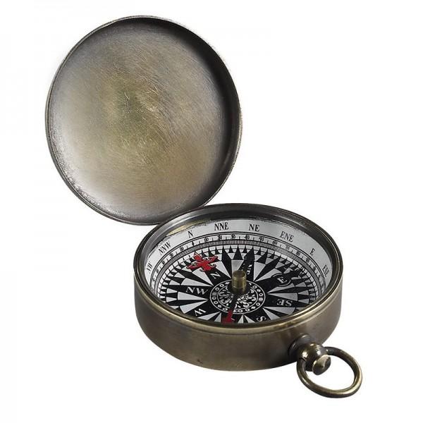Kompass . bronziert
