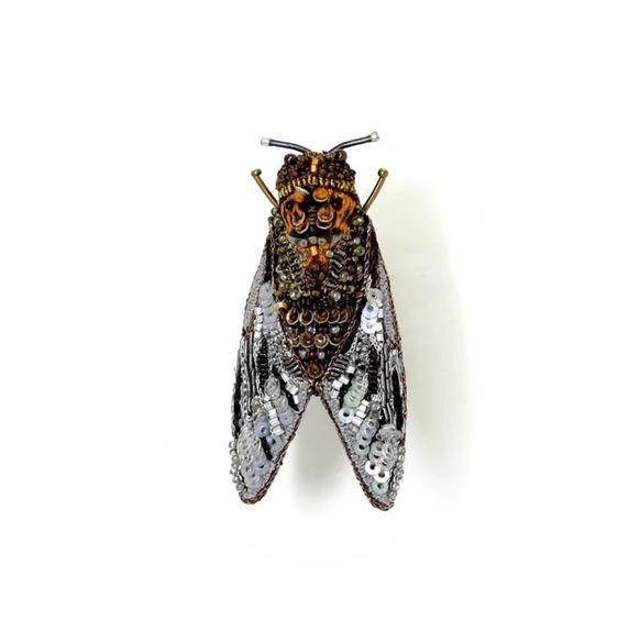 Brosche . TROVELORE . Cicade Vineyard