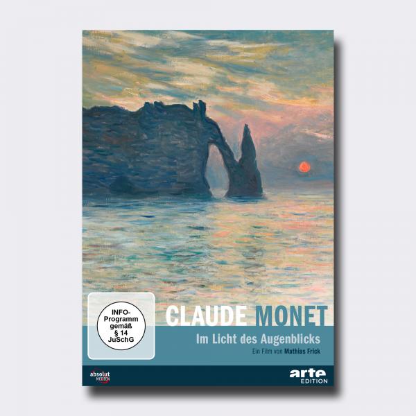 CLAUDE MONET . Im Licht des Augenblicks . DVD