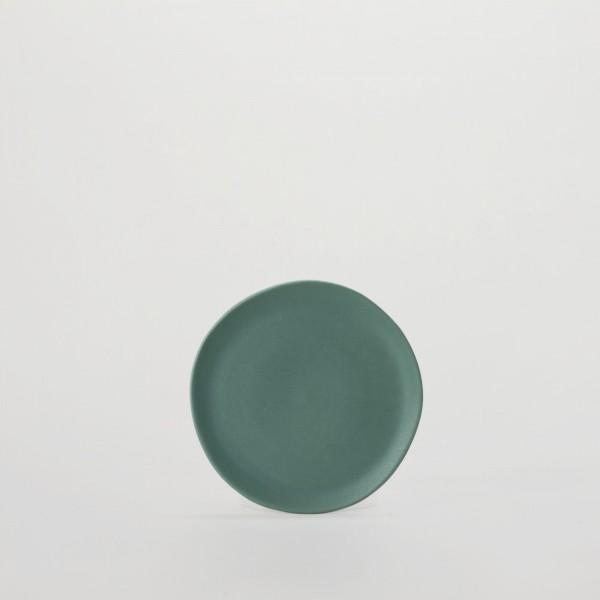Teller . JARDIN DE MAGUELONE . 12cm türkisgrün