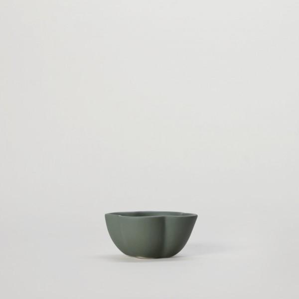 Schale . SYAM SHARING . 9cm blaugrün