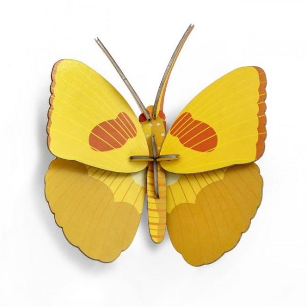 Pop-out Schmetterling gelb