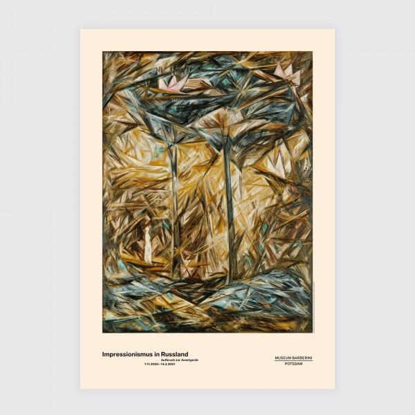 Poster No 64 . GONTSCHAROWA . WALD