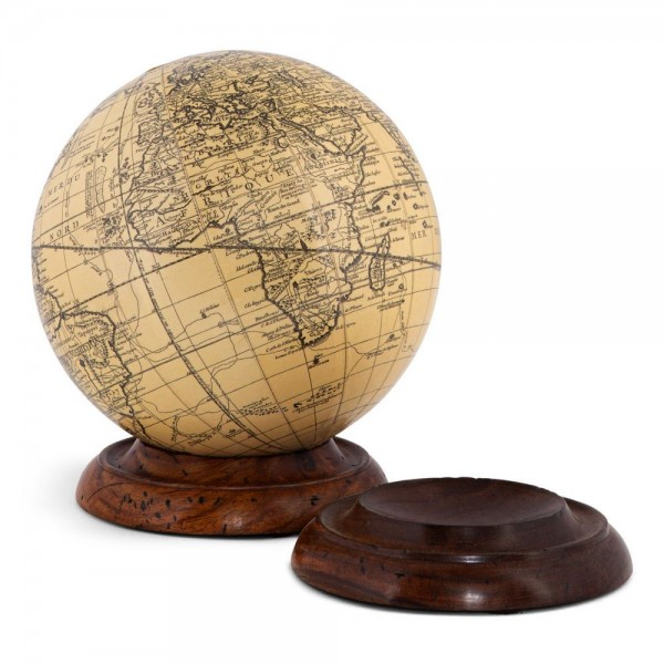 wooden base for globes