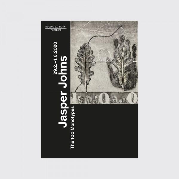 PST 50 Jasper Johns Ausstellungsplakat