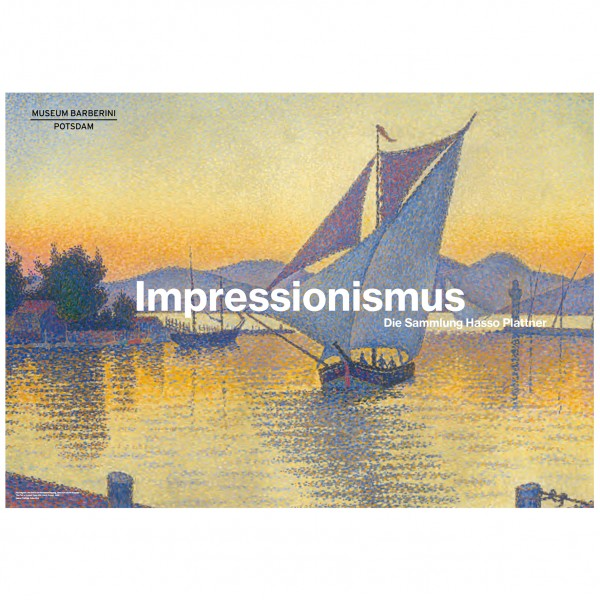 PST 57 Signac The Port at Sunset Collection Poster
